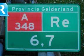 Nieuws: Alleen Gelderland beslist over maximumsnelheid A348