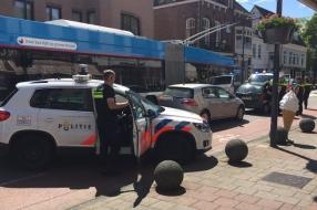 Nieuws: Auto klemgereden in Velp, bestuurder aangehouden