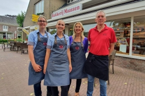 Nieuws: Bakkerij Maassen in Wanroij mag zich voortaan hofleverancier