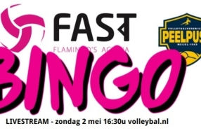 Bingo tijdens Limburgse volleybalderby