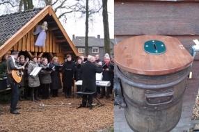 Collectebus kerststal Sint Anthonis leeggeroofd: 'Wij laten ons niet uit de wind slaan'
