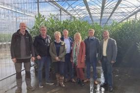 Nieuws: College op bezoek bij SV Tuinplanten