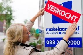 Coronanieuws: 'Ondanks coronacrisis zijn er meer huizen verkocht dan vorig jaar'