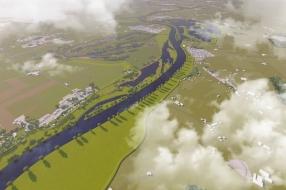Nieuws: De dijk tussen Ravenstein en Lith krijgt 235 miljoen: dit ga