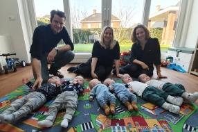 Nieuws: De ooievaar had het druk in Oploo: vier tweelingen geboren i