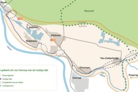 Nieuws: Definitief reguliere dijkversterking voor Lob van Gennep