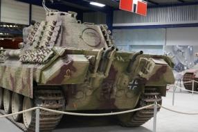 Nieuws: Duitse Phanter die op transport moet naar het Oorlogsmuseum