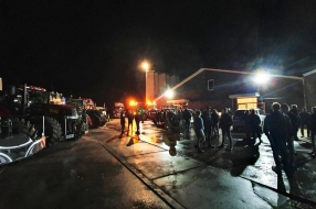 Nieuws: Eerste boeren aangekomen in Den Haag om actie te voeren