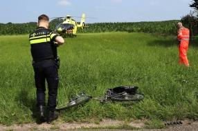 Nieuws: Fietsster ernstig gewond na botsing met vrachtwagen in Sint