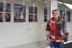 Nieuws: Frank Weren exposeert in winkelstraat