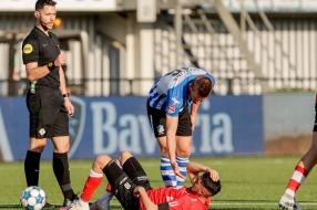 Nieuws: Helmond Sport beslist derby tegen FC Eindhoven in blessureti