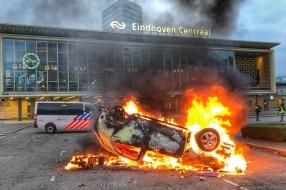 Nieuws: Hoogste schadevergoeding na avondklokrellen in Eindhoven: 80