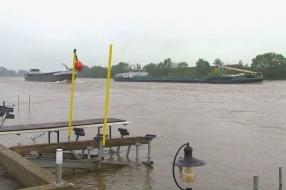 Nieuws: Hoogwaterpiek Cuijk en Grave al bereikt, waterpeil zakt heel