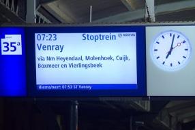 Nieuws: 'Iedere dag afwachten of de trein wel rijdt', reizigers in a
