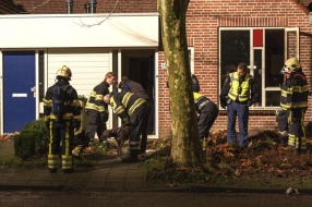 Nieuws: Inwoner Haps (36) raakt gewond na gasbrand