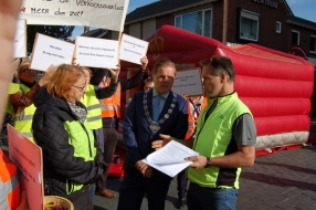 Inwoners Sint Hubert zijn het verkeer door de dorpskern beu en biedt burgemeester brandbrief aan