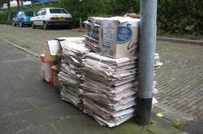 Nieuws: Inzameling oud papier in wijken Estersveld en Stoof