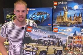 Nieuws: Lichtman wordt LEGO-man, corona maakt zakenman Frédéric (ext