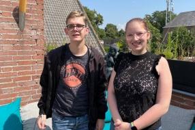 Nieuws: Liesl en Jesse zijn eenzaam in coronatijd: 'Anderen hebben w