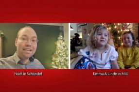 Nieuws: Linde (5) zit al maanden in thuisquarantaine met haar zus: '