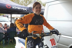 Nieuws: Luca (19) uit Boxmeer studente doordeweeks, motorcrosster in