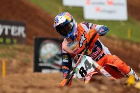 Nieuws: Motorcrosser Jeffrey Herlings terug aan kop in WK met winst