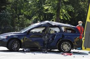 Motorrijder gewond bij botsing met auto in Sint Hubert, traumahelikopter ingeschakeld