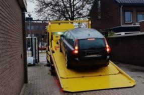 Poolse 'spookauto' in beslag genomen