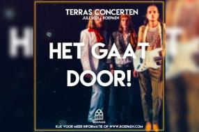 Nieuws: Terrasconcerten bij Roepaen gaan gewoon door