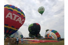 Nieuws: Tiende en laatste Ballonfestival Grave gaat eindelijk de luc