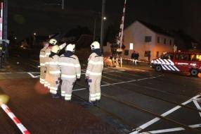 Nieuws: Trein ramt gipsblokken in Velp