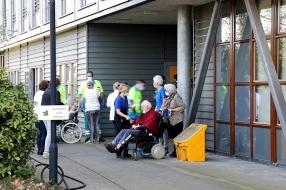 Nieuws: Twintig ouderen geëvacueerd na brand in zorgcentrum Sint Ant