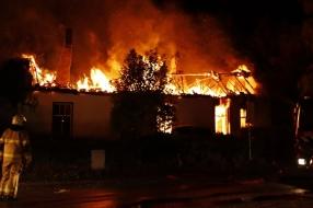 Nieuws: Uitslaande brand verwoest huis in Velp
