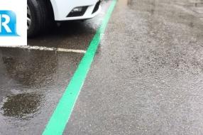 Nieuws: Wat betekenen de groene lijnen op parkeerplaats in Velp?