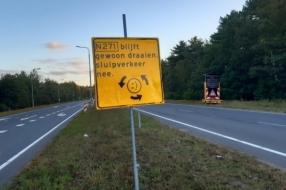 Werkzaamheden N271 zorgen voor veel extra kilometers