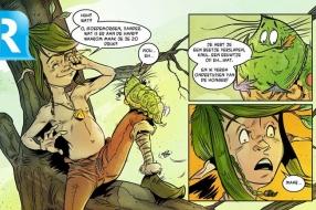 Nieuws: Wethouder Marc Budel reikt eerste exemplaren stripboek Meand
