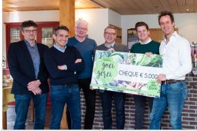 Nieuws: 5.000 euro voor Smaakcentrum Land van Cuijk