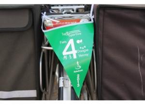 Doortocht Venraijse fietsvierdaagse door Kees de Bruijn